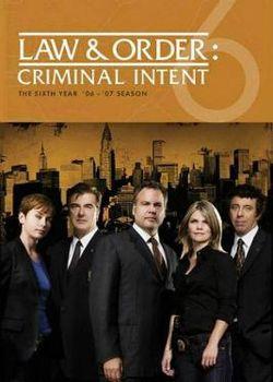 Law & Order: Criminal Intent: Season 6