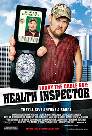 Larry The Cable Guy: Health Inspector