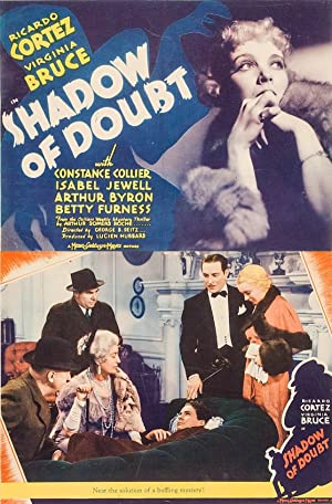 Shadow Of Doubt 1935
