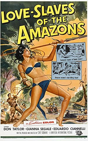 Love Slaves Of The Amazons