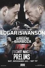 Ufc Fight Night 57: Edgar Vs. Swanson Preliminaries
