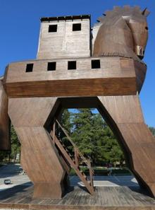 The Trojan Horse Mystery