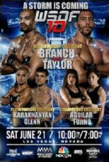 World Series Of Fighting 10 Branch Vs. Taylor